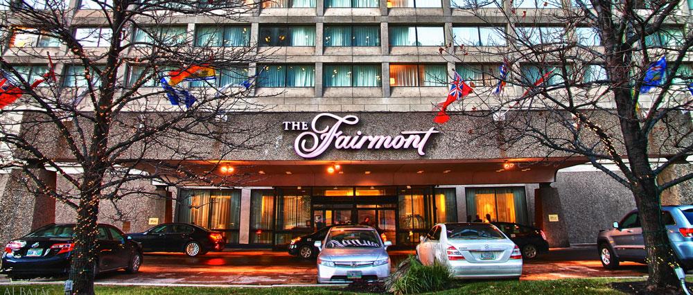 The Fairmont Winnipeg.