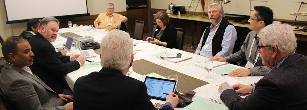 Comité permanent en réunion