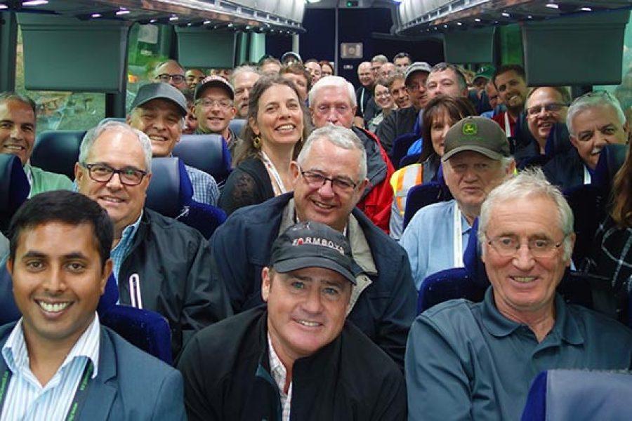 Board of Directors hosts tour of Nova Scotia's Annapolis Valley