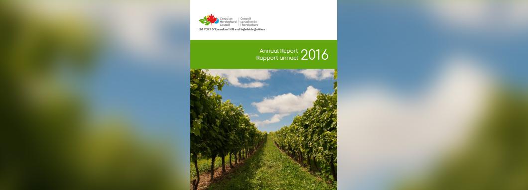 2016 CHC Annual Report