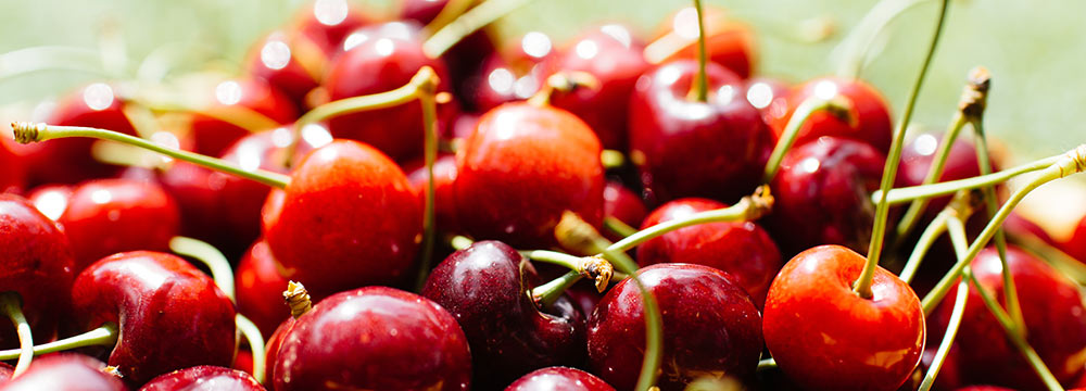 Cherries. Photo: Unsplash
