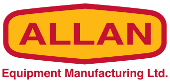 Allan Equipment Manufacturing ad logo