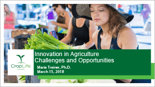 CropLife - Innovation in Agriculture Challenges and Opportunities