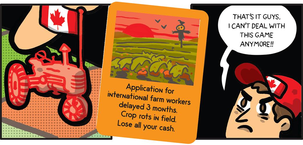 crop rots in field