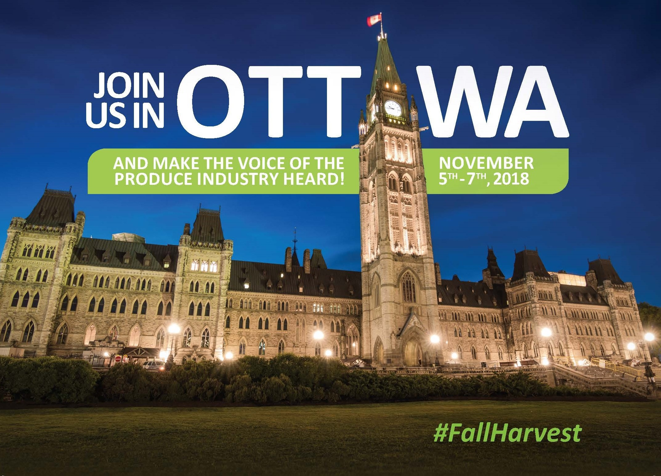 Fall Harvest Meetings on the Hill – Canadian Horticultural