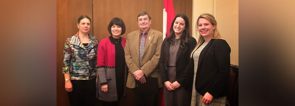 CHC with minister Petitpas Taylor