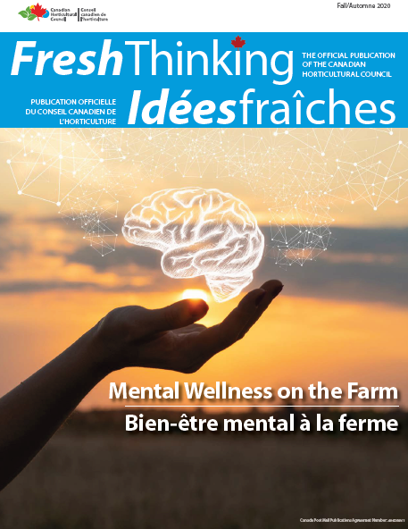 Fresh Thinking Fall Automne 2020 Cover