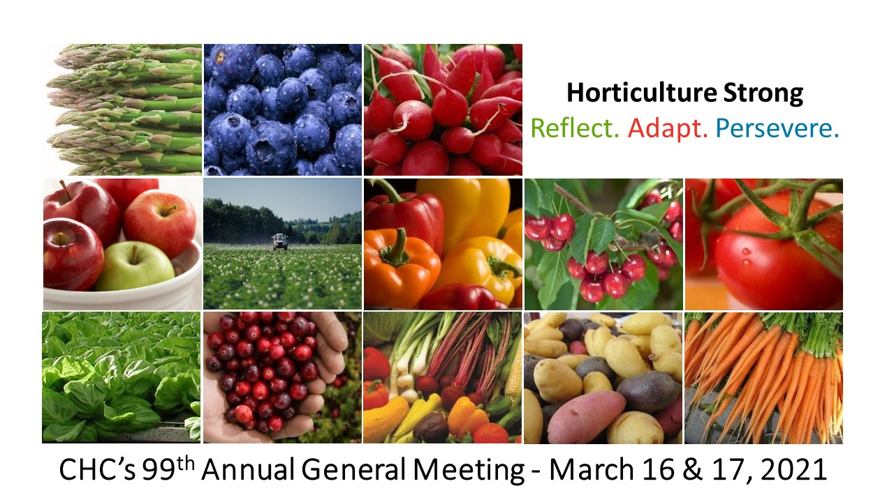 CHC's 99th Annual General Meeting - March 16